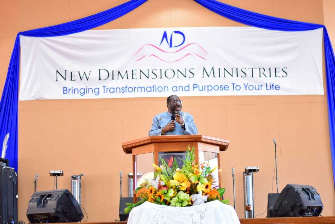 Evangelising In The Power of The Spirit Part 1 - Apostle Dr. Stephen Holford