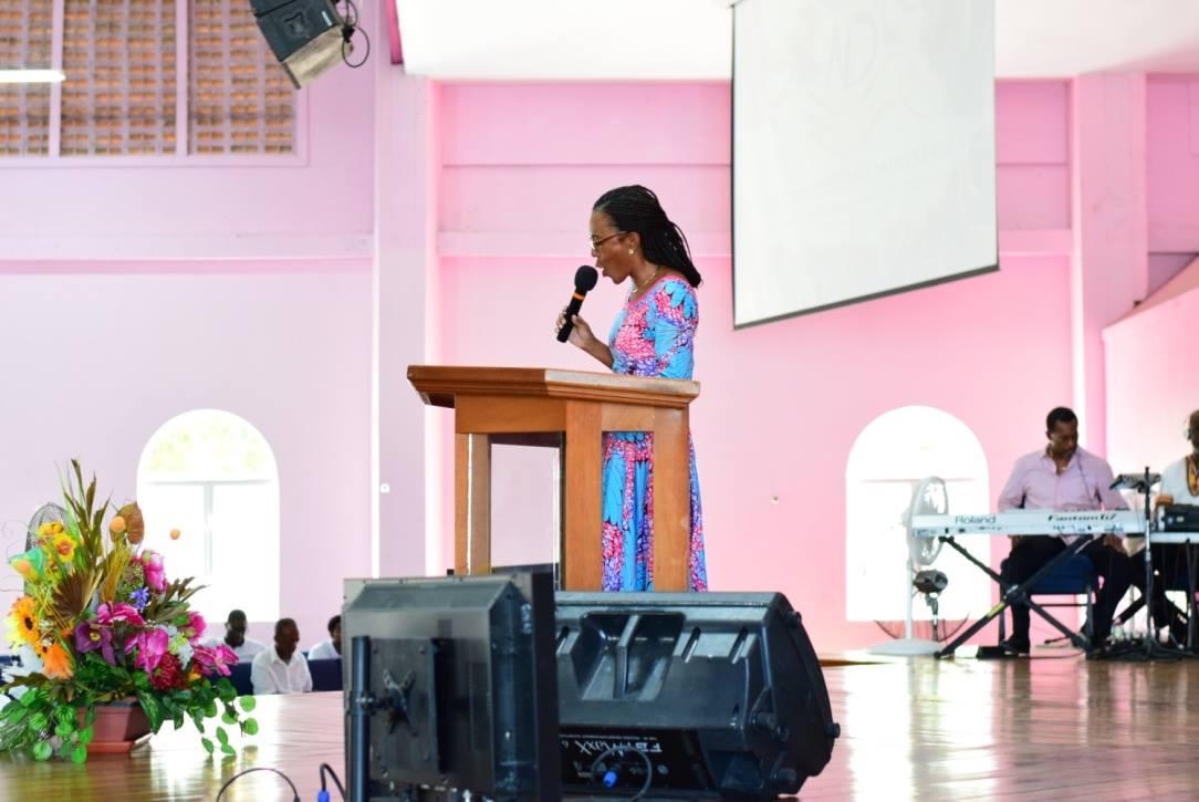 Revealing God's Power Through Worship - Minister Sonia Johnson